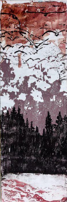 Waldsaum, 2020, 21 x 63 cm